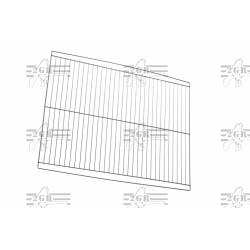 Divisorio in griglia zincata per gabbia 90/120